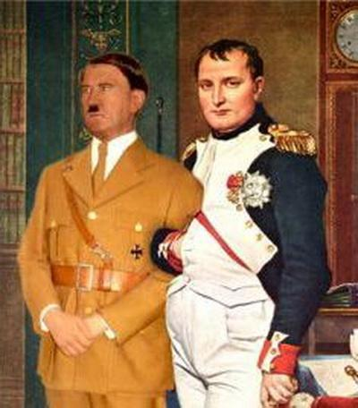 essay napoleon hitler Get an answer for 'adolf hitler essaywhat would you write in an essay for adolf hitler, what are the main points to write or mention and please describe the points a little.