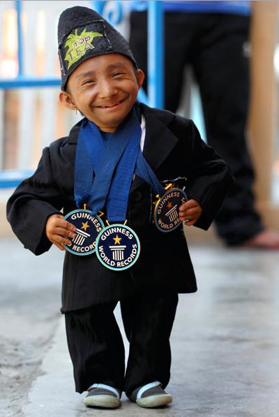 Самая маленький в мире человек