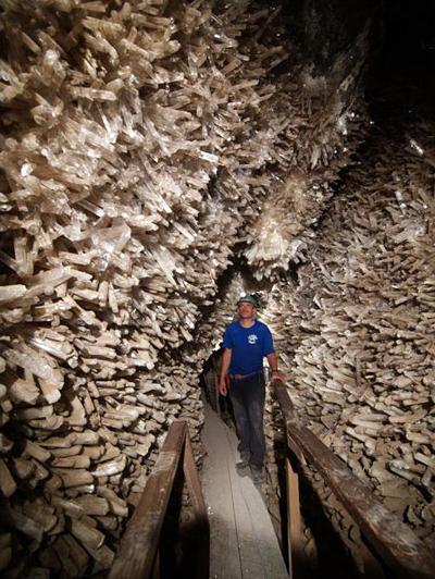 Удивительные мексиканские пещеры в шахте Найка