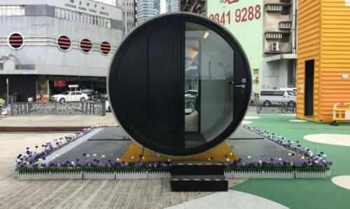 В Гонконге создали дома из бывших бетонных водопроводных труб
