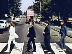 ����� � ���������� The Beatles ��� ������� � ������� Abbey Road