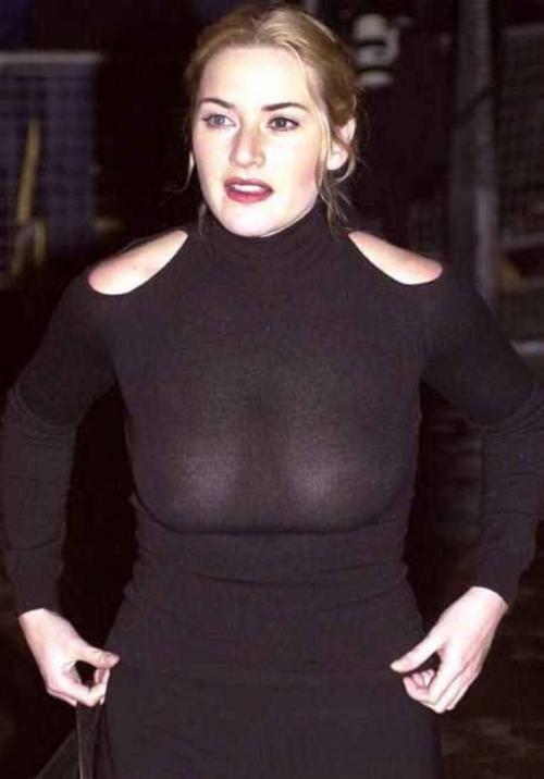 Кейт Уинслет В начале карьеры актриса была полновата, обожала яркий макияж и носила рыжие волосы.