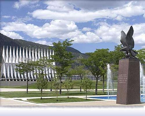 Очень часто здание используется как символ Академии…