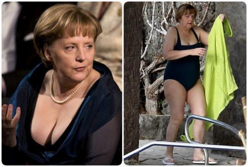 Поклонская, Меркель и другие женщины-политики в купальниках