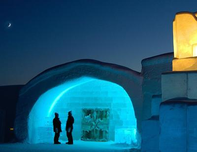 ����� �Icehotel� � ������ �������� ������������� ��� ���� ������� ������������� � ����������� � ����� ����, ��������� ���������� ��������.