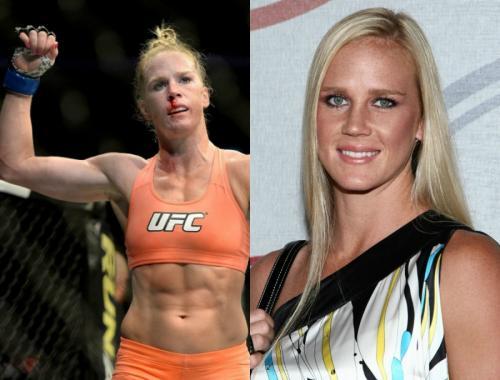 Женщины-бойцы MMA на ринге и в обычной жизни
