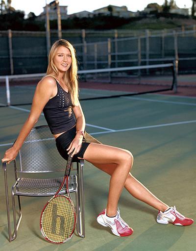 7. Мария Шарапова (Maria Sharapova), 25 лет, российская теннисистка Длина ног: 121 см Рост: 188 см