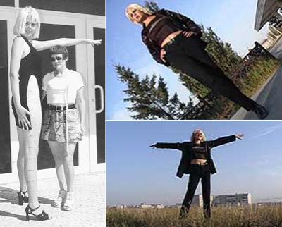 4. Нина Пыльская, казахская и российская модель Длина ног: 123,5 см Рост: 193 см