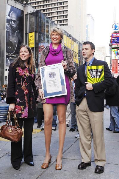 1. Светлана Панкратова, 41 год, россиянка Длина ног: 132,2 см Рост: 196 см