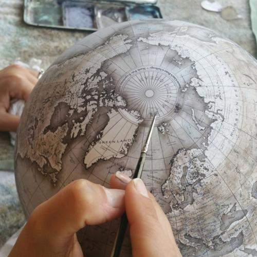Глобусы от Bellerby & Co. Globemakers