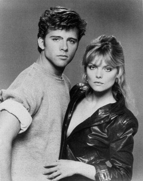 Максвелл Колфилд (Maxwell Caulfield) и Мишель Пфайффер (Michelle Pfeiffer)