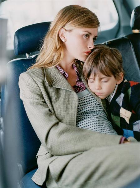 Модель и мама в одном лице
