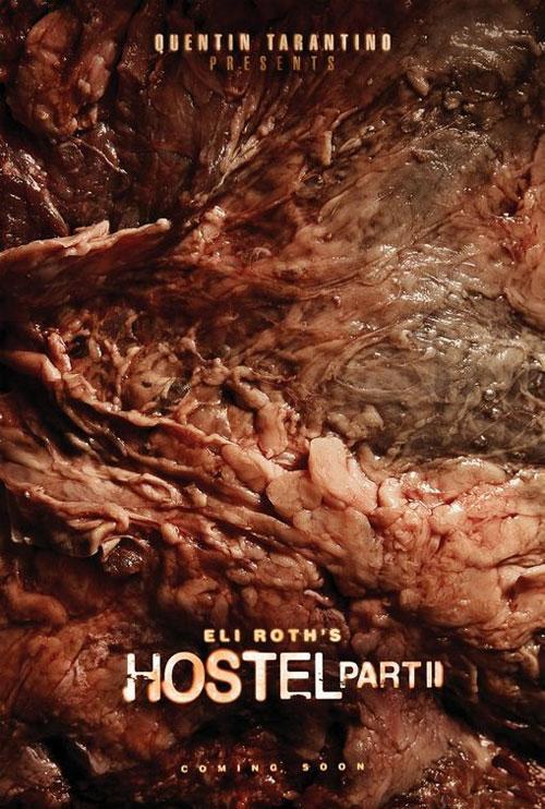 «Наихудший рекламный постер» -  постер к сиквелу кровавого ужастика Эли Рота «Хостел» -  «Хостел.Часть 2» (Hostel Part II ), который снял Квентин Тарантино…
