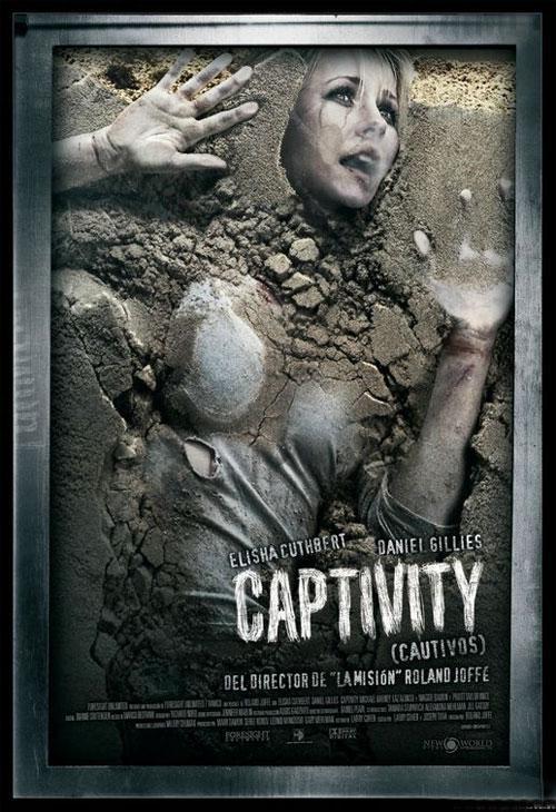 Постер к фильму «Похищение» (Captivity)  — «самый жуткий постер 2007 года».