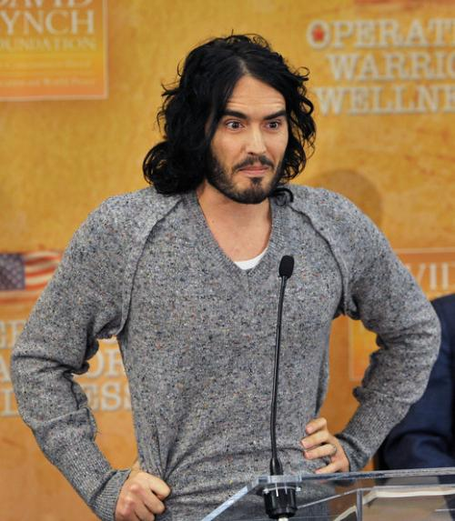 ������ ������� ������ (Russell Brand) ������ ���������� ������������ � ������� ���� ���������� �����, ������� ��� �������� ���������.