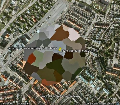 Бывают и такие закрытые цветастенькие зоны в городах.