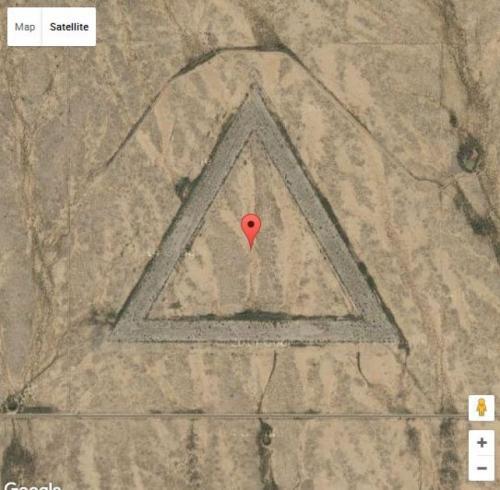 Треугольник в Аризоне