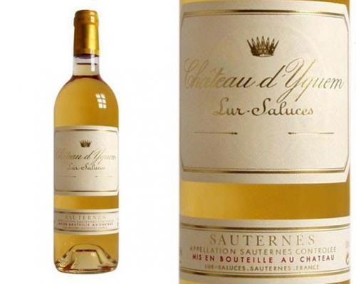 Вино Chateau d`Yquem (100 тысяч долларов) Произведенное в 1787 году, это вино считается одним из самых старейших ныне существующих белых вин в мире.