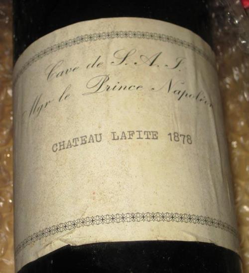 Вино Chateau Lafite (111 600 долларов) Бизнесмен из США Рассел Фрай 15 лет собирал коллекцию вина, в которую вошел и этот великолепный экземпляр.