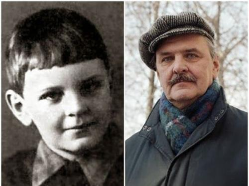 Любимые актеры СССР в детстве и в расцвете лет