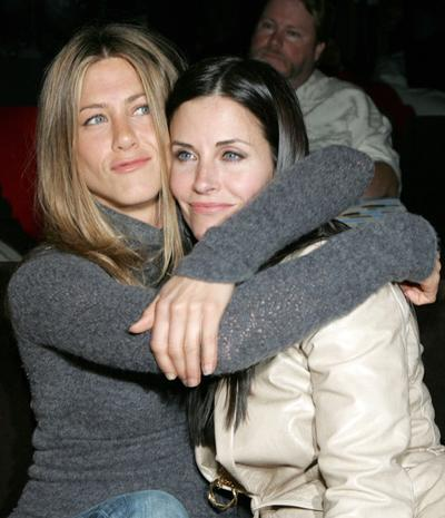 Дженнифер Энистон (Jennifer Aniston) - Кортни Кокс (Courteney Cox)