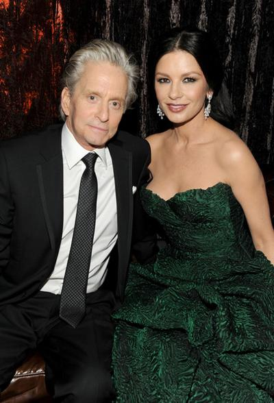7. Майкл Дуглас (Michael Douglas) и Кэтрин Зета-Джонс (Catherine Zeta-Jones)