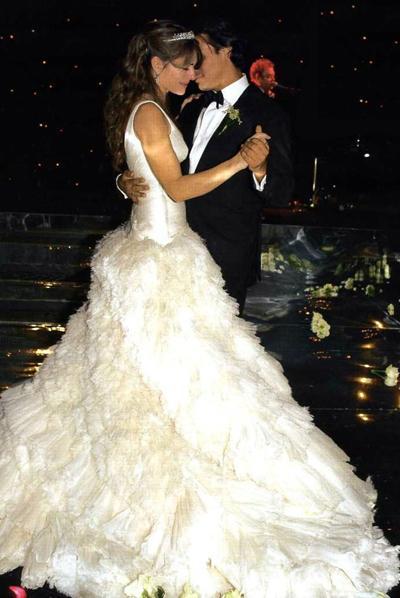 Самые знаменитые свадебные платья.