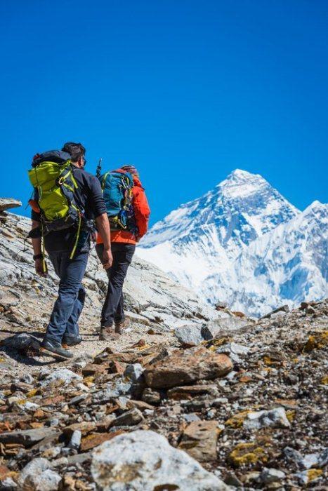 Альпенист покоривший эверест