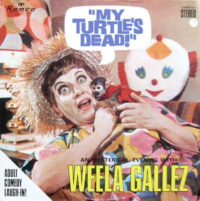 Weela Gallez - «My Turtle`s Dead!» (1966)