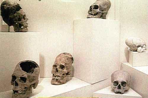 А потом ему удалось побывать на самой обыкновенной архелогической выставке в Нью-Йорке, на которой он просто снимал представленне экспонаты...