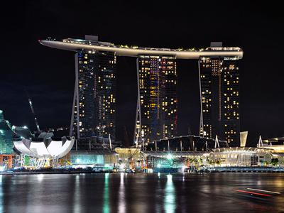 1. Отель Marina Bay Sands, Сингапур