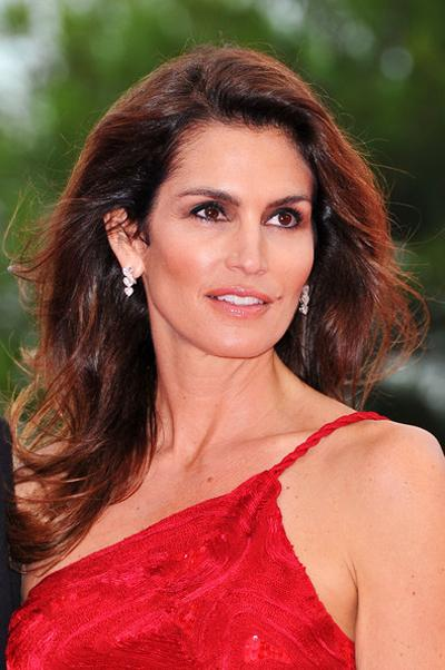 10. Синди Кроуфорд (Cindy Crawford), 45 лет