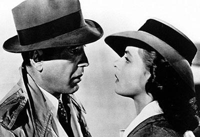 Касабланка (1942) - French 75 Любимый коктейль главного героя фильма «Касабланка», сыгранного Хамфри Богартом.