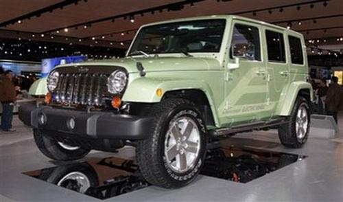 Jeep Wrangler Unlimited Electric Vehicle