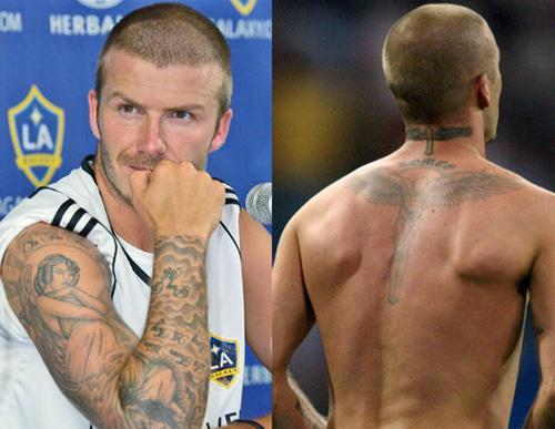 Кроме уже существующих татуировок