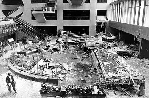 17 июля, 1981. Hyatt Regency skywalks(Канзас, США. Погибло: 114 человек...