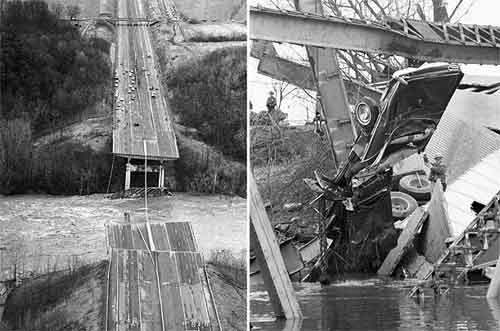 15 декабря, 1967. Мост Сильвер(США)Погибло: 46 человек...