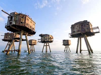 ������� ����� ��������� (Maunsell Forts), ����� �����, ��������������