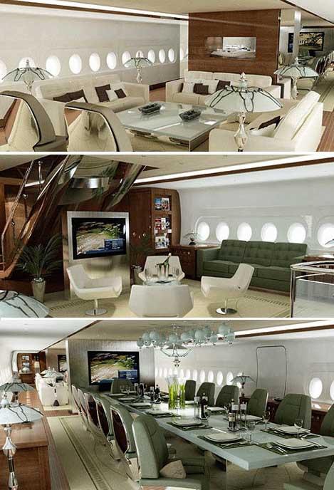 самолёт абрамовича фото внутри