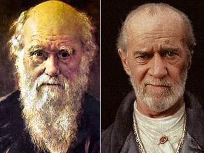 Чарльз Дарвин (Charles Darwin) / Джордж Карлин (George Carlin)