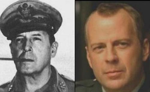 Генерал Второй мировой войны Дуглас Макартур (Douglas MacArthur) / Брюс Уиллис (Bruce Willis)