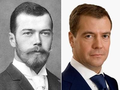 Император Российской Империи Николай II / Дмитрий Медведев