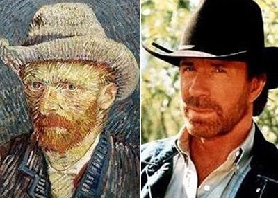 Винсент Ван Гог (Vincent van Gogh) / Чак Норрис (Chuck Norris)
