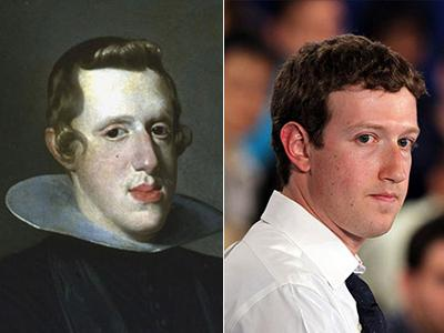 Король Испании Филипп IV (Felipe IV) / Марк Цукерберг (Mark Zuckerberg)