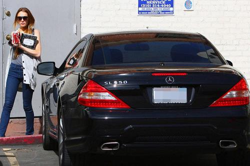 ������� ����� ����� ������ Mercedes-Benz SL550...