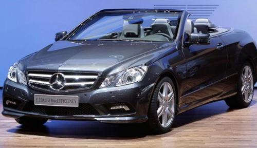 Mercedes E350 CGI Blue Efficiency