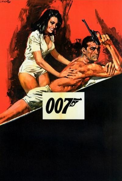 Юбилей «бондианы» в кинопостерах