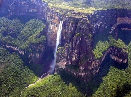 Самый высокий в мире водопад общая