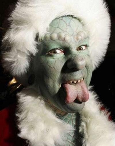 Ужасный Санта (9 фото) .