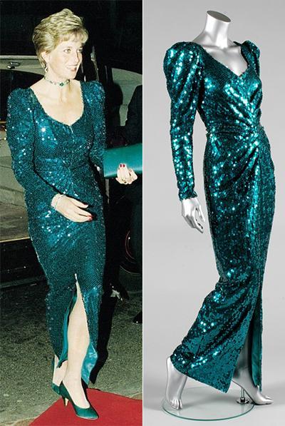 фото платья принцессы дианы